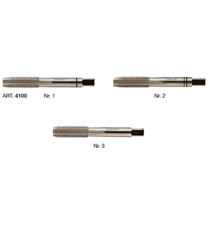 Mũi taro tay dạng Single taper, second and plug 4100 11 20400