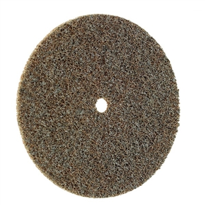 Đĩa nỉ đánh bóng FIX SC-fleece Ø 100 mm coarse (brown) 80605