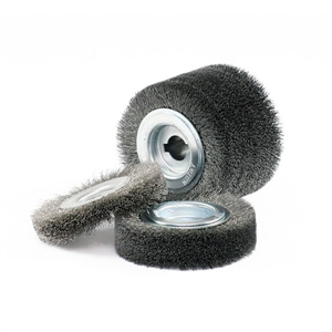 Chổi đánh rỉ Poly PTX special brushes inox wire wheel 100x70mm 46201